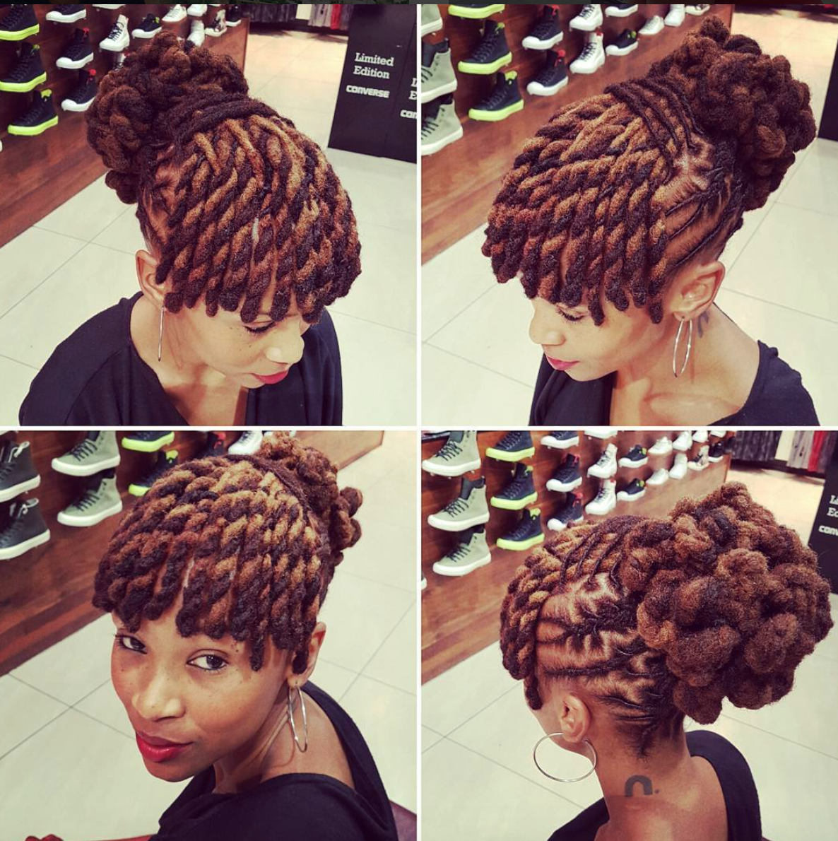 Dope Loc Style Clairemawisa Black Hair Information