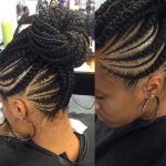 Nice braid work by @narahairbraiding