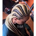 Flawless braids by @nisaraye