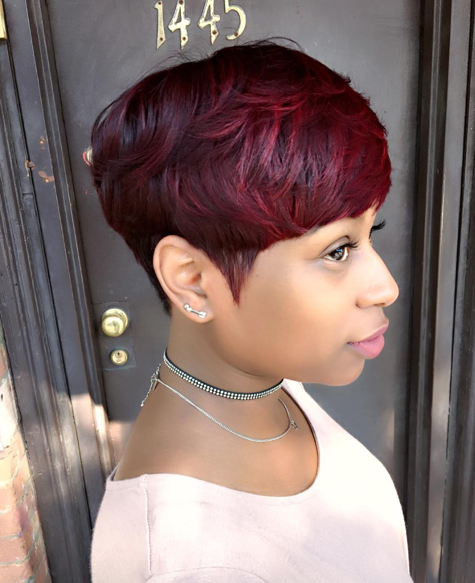 Gorgeous Cut And Color By Artistry4gg Black Hair