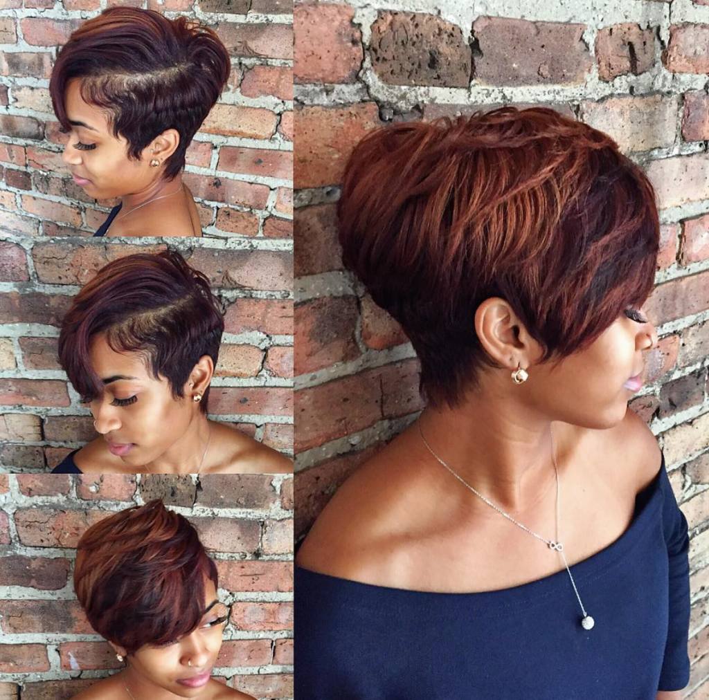 Gorgeous Cut And Color By Stylesbykim Black Hair