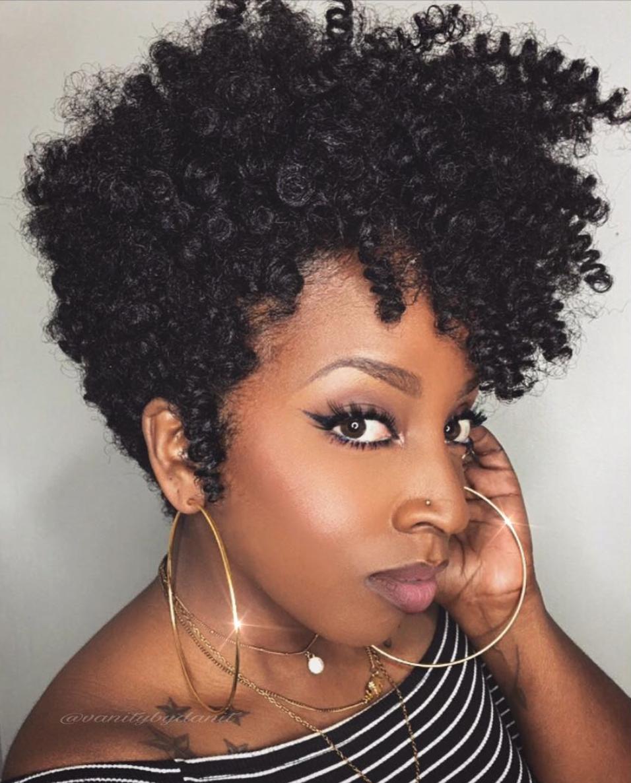 Creative crochet pixie @vanitybydanit - Black Hair Information