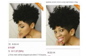 Beauty Vlogger Exposes Wig Company For Using Her Picture To Sell Their Wigs