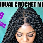 DIY Individual Crochet Havana Twists | NO Cornrows! No Tension! Lightweight! Fast! Under 2 Hrs [Video]
