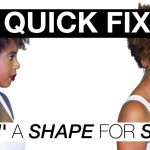 Faking a Shape on Natural Hair [Video]