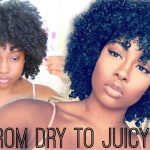 From Dry To Juicy – Refreshing My Slept On Wash N Go Using 2 Products [Video]