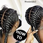 How To Cornrow For BEGINNERS / NEW METHOD [Video]