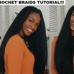 How to do Straight Crochet Braids with a Knotless Part | Outre X-Pression Dominican Blowout Straight [Video]