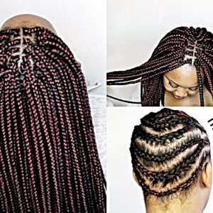 Crochet Box Braids For Beginners : HOW TO SLAY CROCHET BRAIDS! (BOX BRAIDS) [Video]