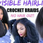 How to SLAY Your Crochet Braids – NEW Invisible Hairline Method [Video]
