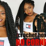 Individual Crochet Box Braids | No Cornrows! New Method! Long Large 90's Inspired Braids in 2-3 Hrs [Video]
