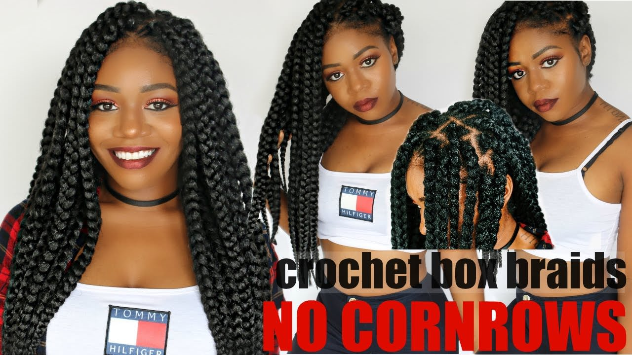 Individual Crochet Box Braids No Cornrows New Method