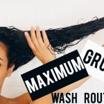 My Maximum Growth Wash Day For Curly Hair [Video]