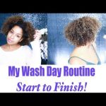 My Wash Day Routine For Super Moisturized Color Treated Curls [Video]