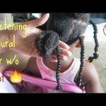 Natural Kids: Stretching Natural Hair WITHOUT Heat || African Threading|| Protective Styles [Video]