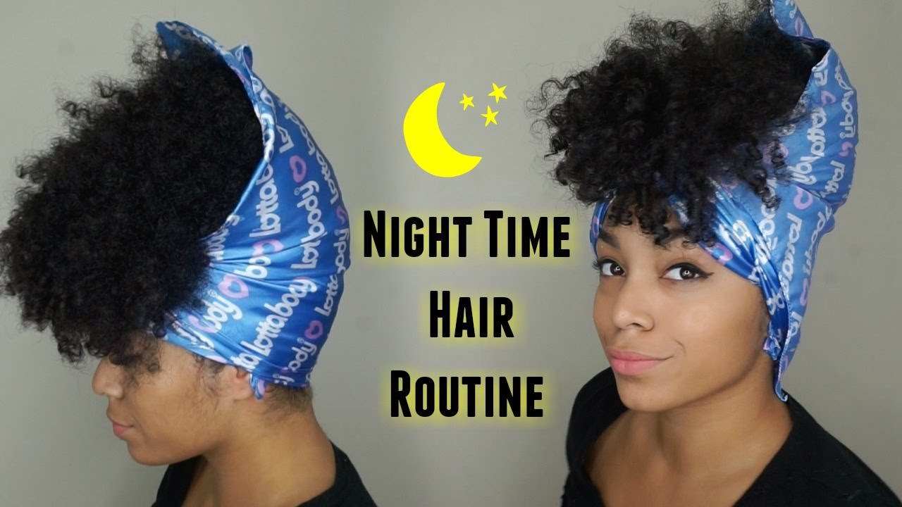 Crochet Hair Routine : Night Time Hair Routine (Updated) Preserving Your Curls - Black Hair ...