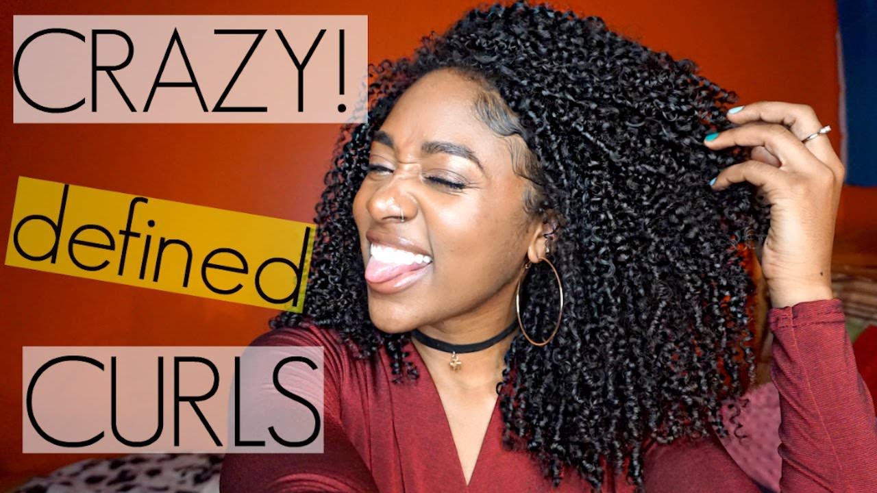 Shingling Method For Crazy Defined Curls Natural Hair