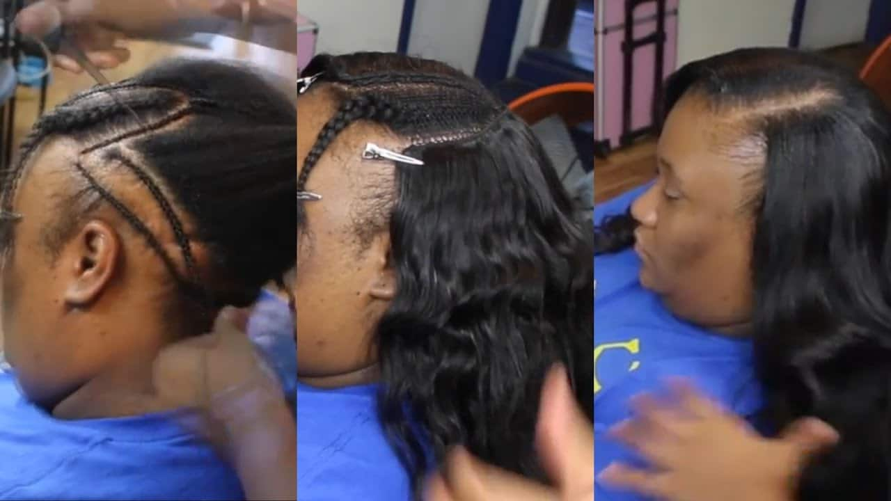 Thin Hair Sew In Tips And Tricks Video Black Hair