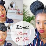 Tutorial| Three 10 Minute Natural Hair Styles Buns of Life [Video]