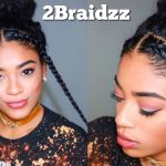 Two Braid Hairstyles – Natural Curly Hair [Video]