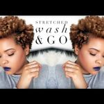Updated Stretched Wash N Go | Tapered Natural Hair [Video]