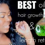 #1 Oil for hair growth and LENGTH RETENTION [Video]