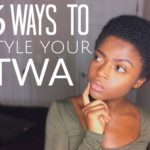 6 Cute Ways to Style Your natural TWA 3c 4a 4b & 4c friendly [Video]