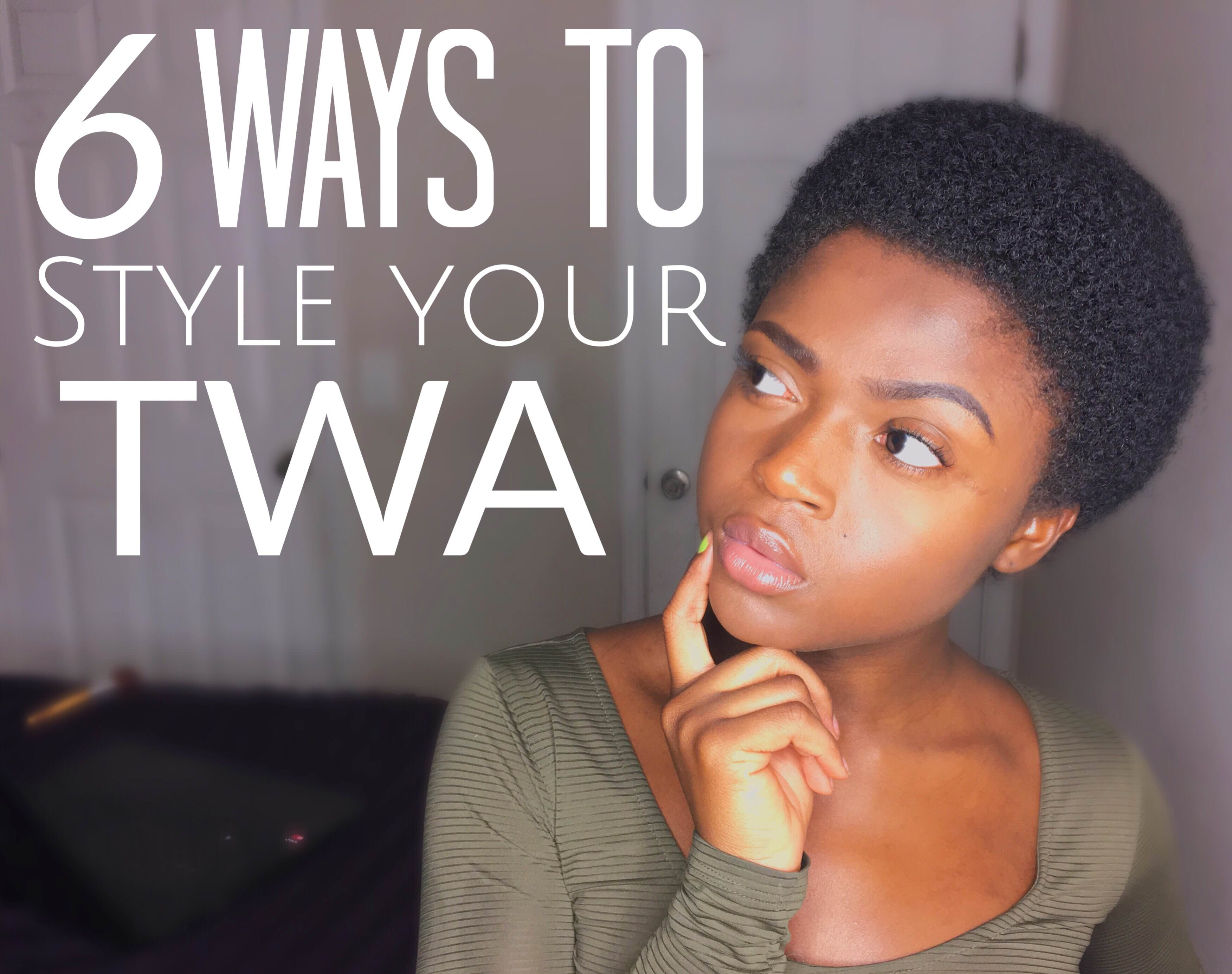 6 Cute Ways To Style Your Natural Twa 3c 4a 4b Amp 4c