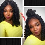 Lace Front Synthetic Crochet Wig