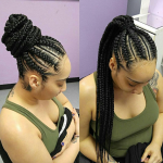 Flawless braids via @ms_willaworld