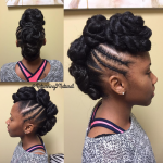 Nice updo by @returning2natural