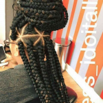 Beautiful work by @narahairbraiding