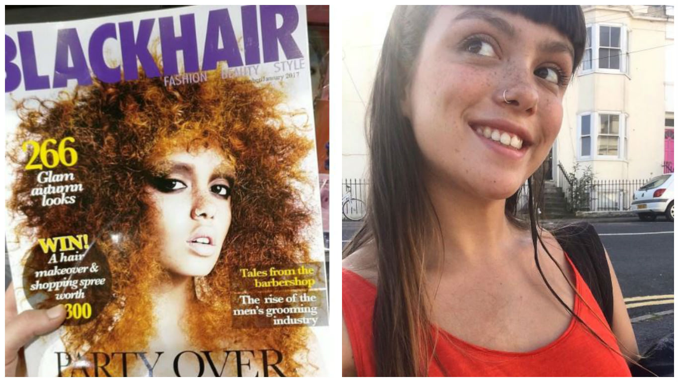 White British Model Apologizes For Appearance On The Cover ...