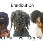 Braidout On Wet Hair Vs. Dry Hair | Natural Hair [Video]