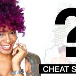 Cheat Sheet! Flexirods on Dry Natural Hair [Video]