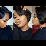 DIY| 27 Piece & A Lace Frontal Tapered Bob Wig [Video]