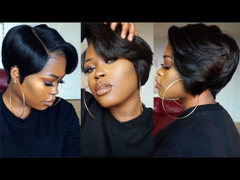 27 pieces hair styles with weave diy 27 amp a lace frontal tapered bob wig 2311