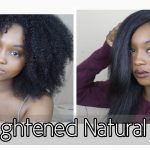 How I Straighten My Thick Natural Hair | 3 Years Natural! [Video]