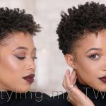 How I Style My Short Hair | TWA [Video]