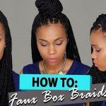How To Create Box Braids IN 2 HOURS!!! [Video]