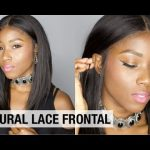 HOW TO INSTALL A LACE FRONT WIG | PROTECTIVE STYLE FOR NATURAL HAIR [Video]
