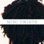 How To: Mini Twist on Short Natural 4b/4c Hair [Video]