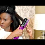 How To Straighten 4c Natural Hair – Instyler Max 2-Way Rotating Iron [Video]