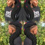Dope Haitian Yarn Locs @tzipporah_braidingstudio