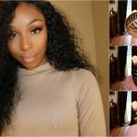 Indian Curly Sew In w/ a Closure (No Glue/Tape, No Leave Out, Sparse Edges) ft. Unice [Video]