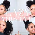 Lazy Hairstyles for CURLY HAIR | Quick, Easy, On-The-Go [Video]