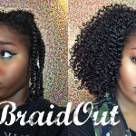 Natural Hair | Braid Out On Stretched Hair [Video]