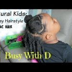 Natural Holiday Hairstyle: Toddler Edition  [Video]