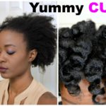 Yummy Heatless Curls on 4c Natural Hair: Luxe Organix & Spoolies Hair Curlers [Video]