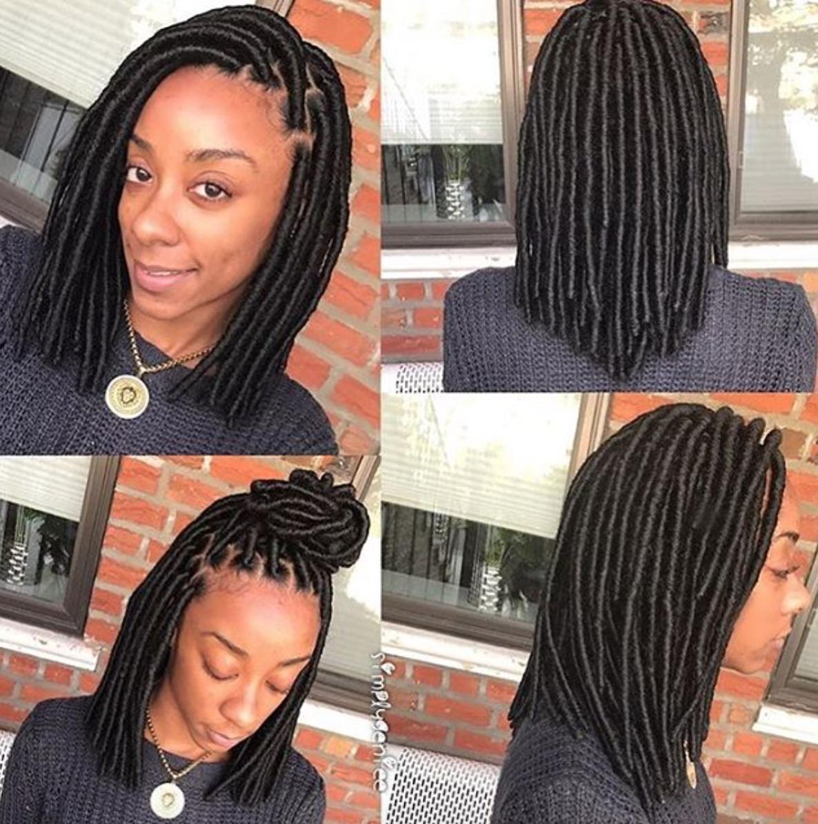 Very Cute Faux Locs By Simplygeniee Black Hair Information